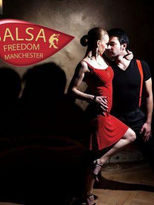 One Hour dance class with Jordan. One hour Salsa dance class